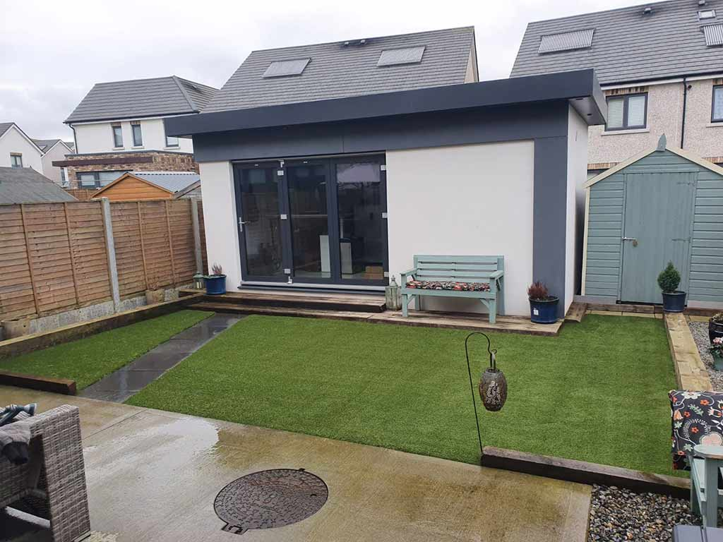 Dublin Area Before & After Artificial Grass