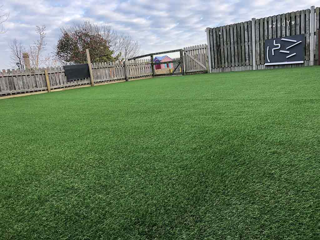 Childcare in Cherrywood with Artificial Grass