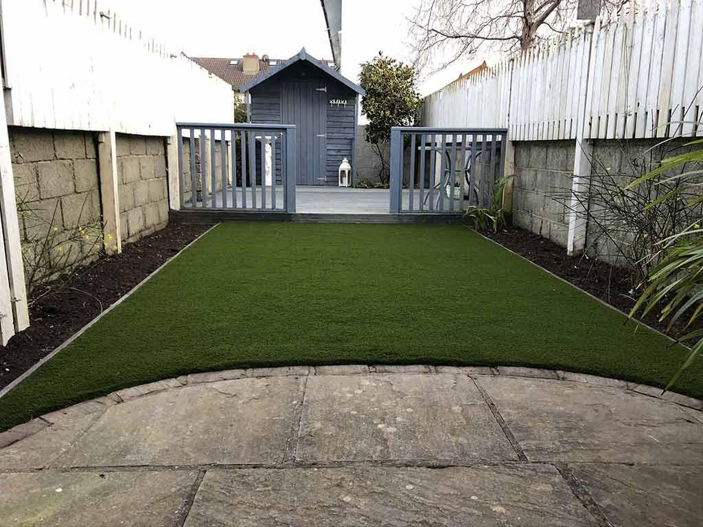 Blackrock Co Dublin Before & After Artificial Grass