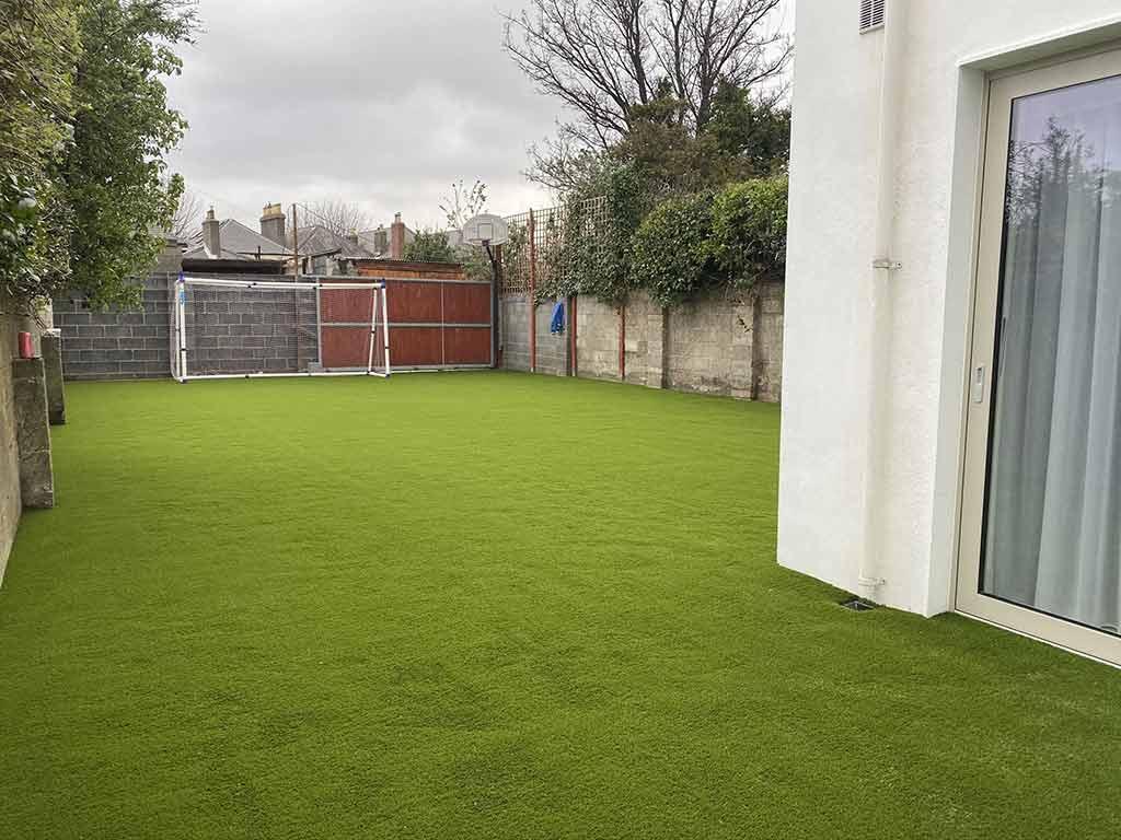Clontarf Before & After Artificial Grass
