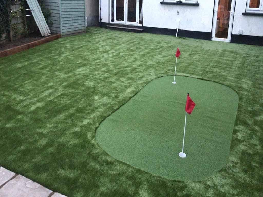 Portmarnock Before & After Artificial Grass
