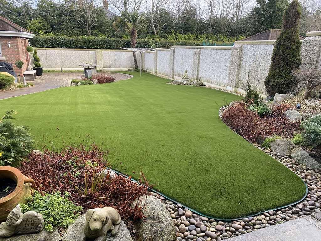 Castleknock Before & After Artificial Grass