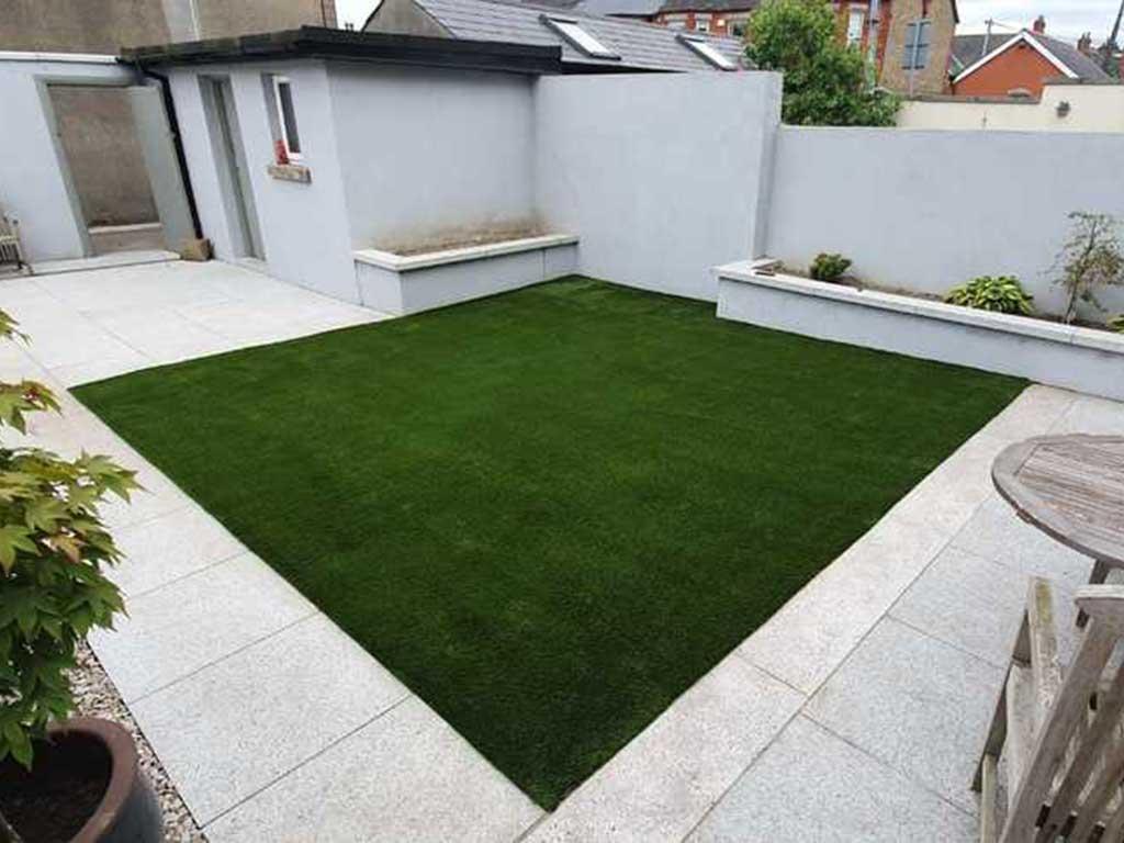 Artificial Grass in Carlow back garden