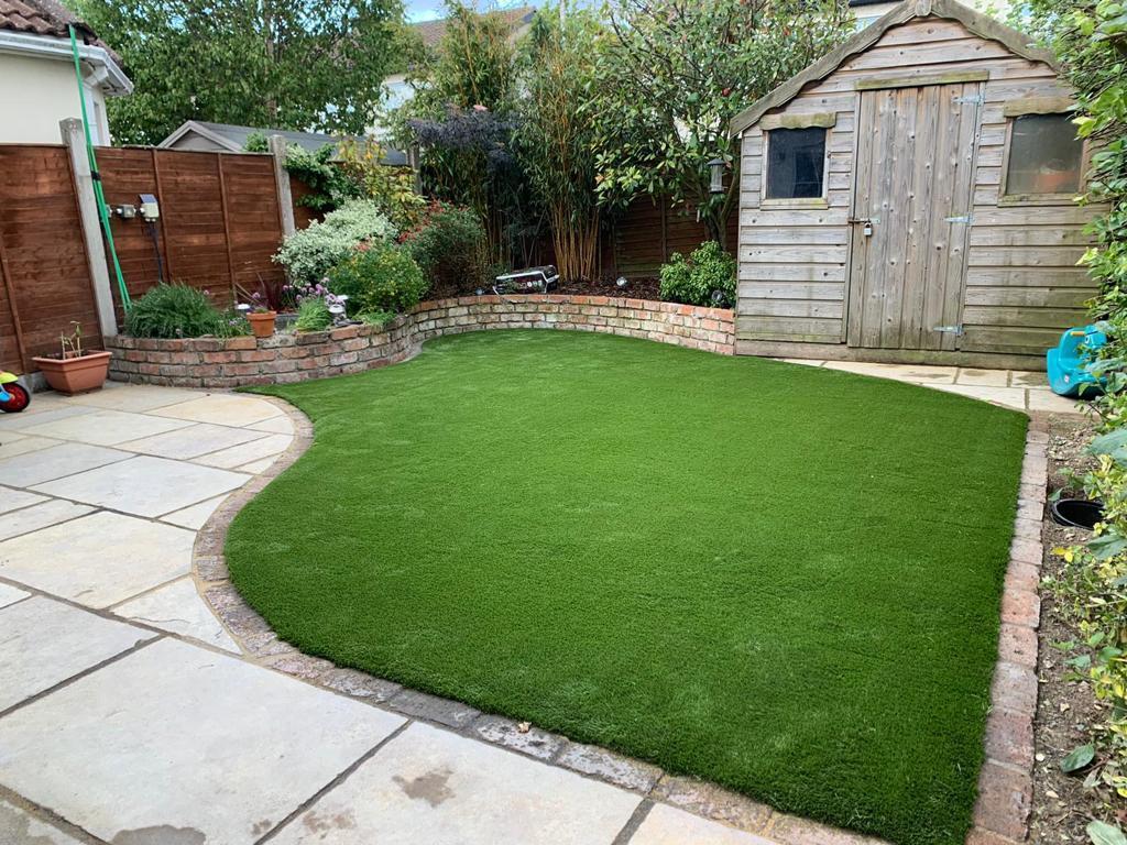 Artificial Grass in County Cork garden