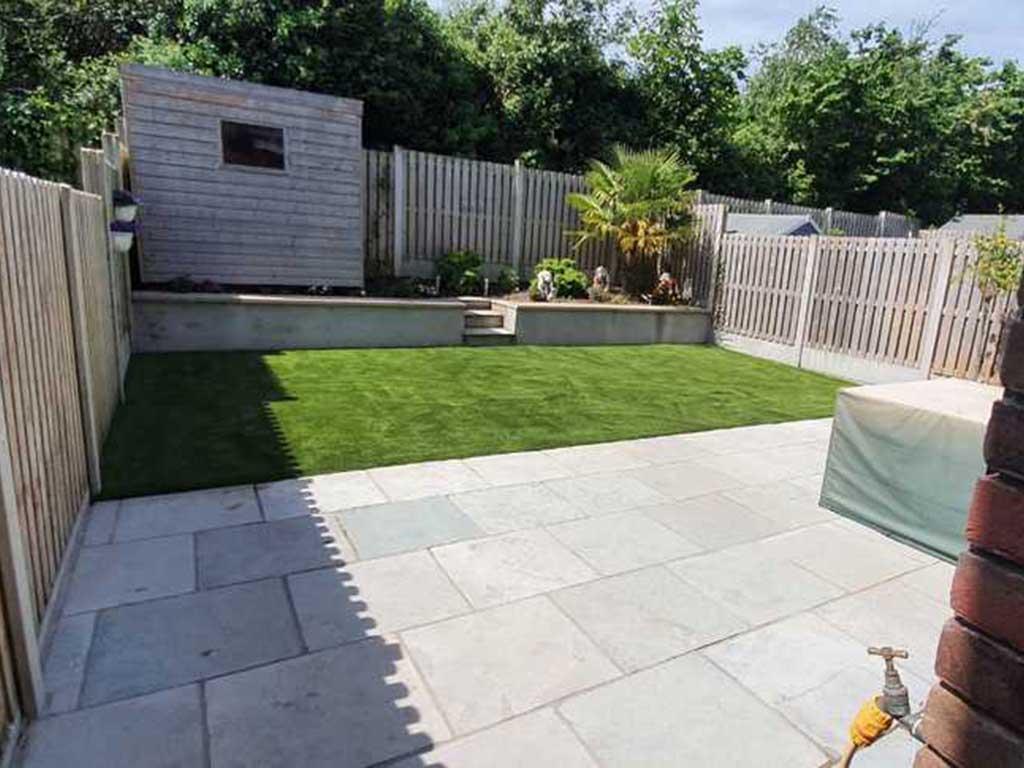Artificial Grass Meath Back Garden