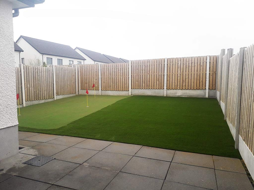 Artifical Grass & Putting Green Installed in Cork