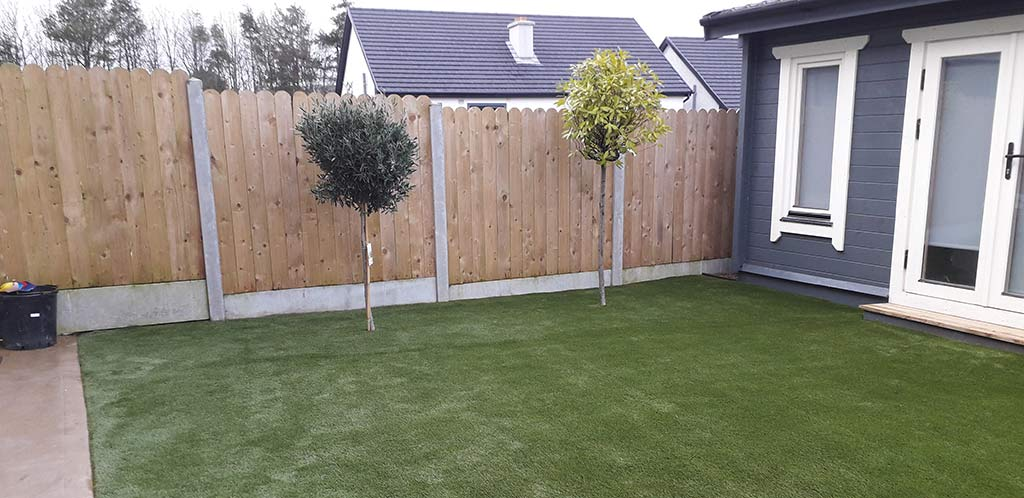 Back Garden after Artificial Grass installation
