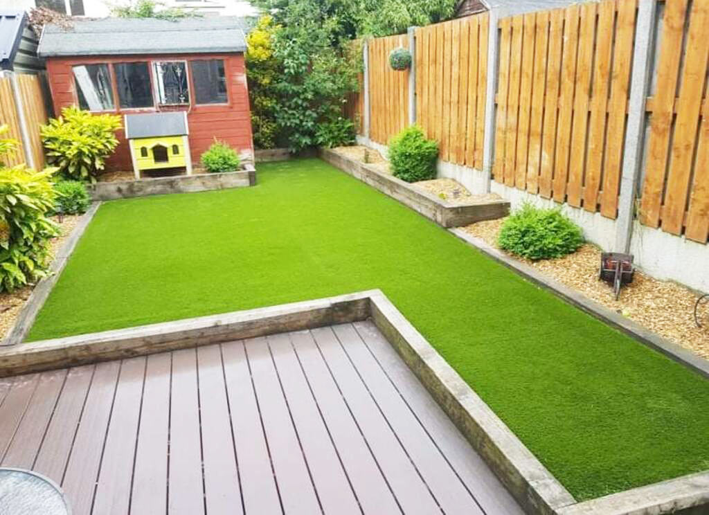 Artificial Grass Rathfarnham Back Garden