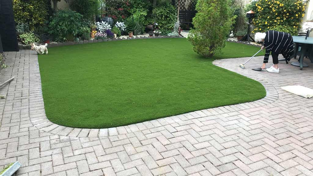 Fake Grass back garden County Cork