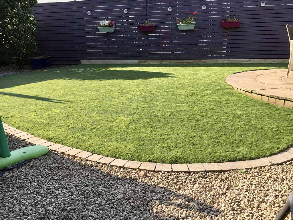 Artifical Grass Carrigtwohill Cork Back Garden