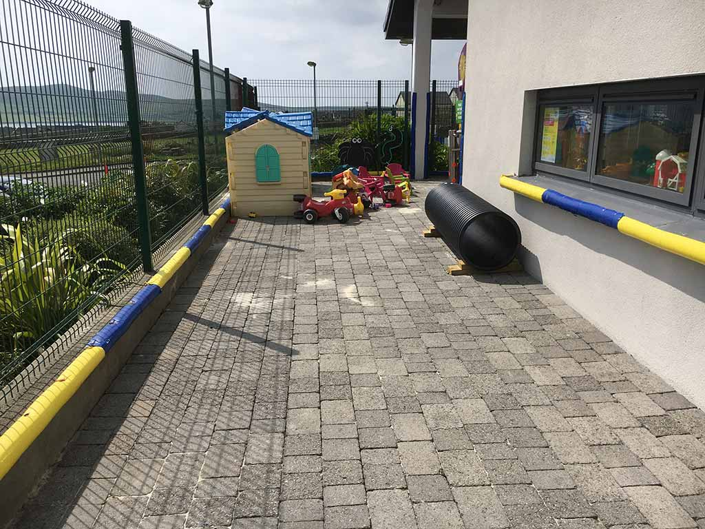 Before & after Playschool gets new outside area in Kerry