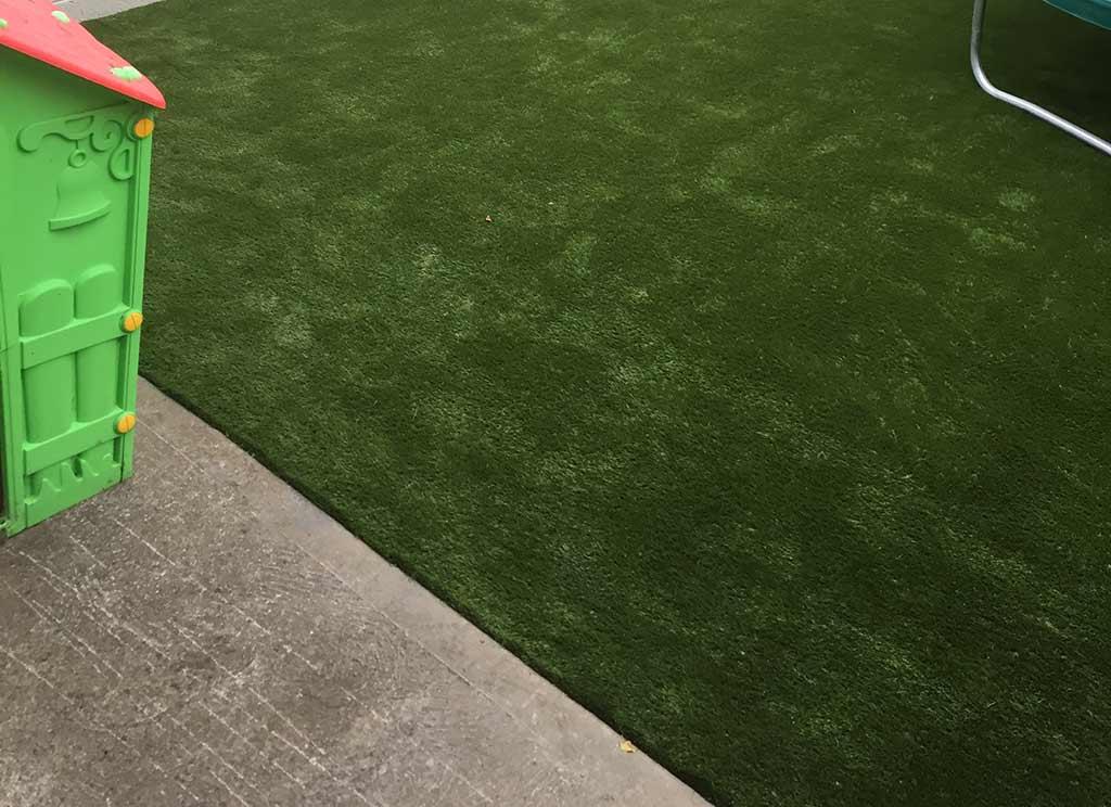 Dublin Artifical Grass installed Dublin Back Garden