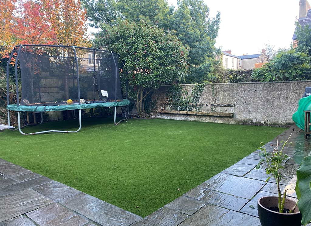 Rathmines Back Garden with Artificial Grass