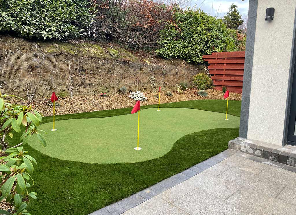 Artificial Grass Putting Green in Bunclody Wexford