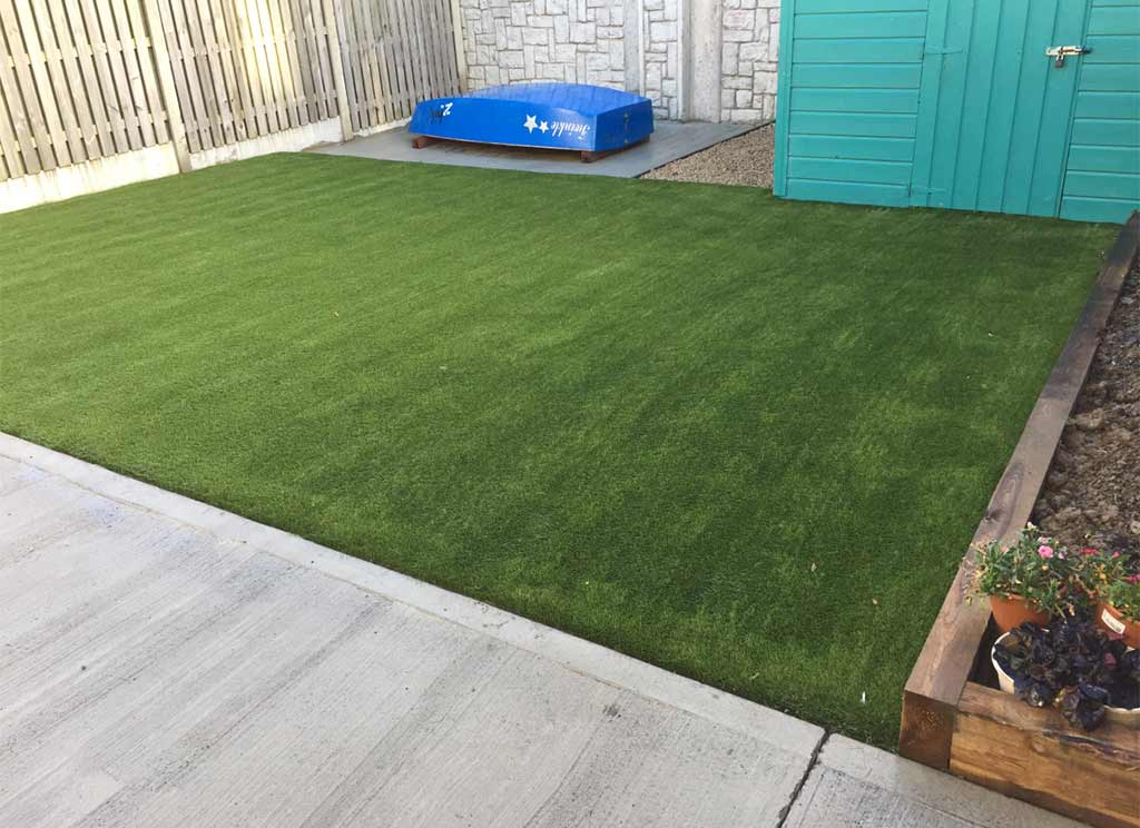 Artificial Grass garden in Skerries CoDublin