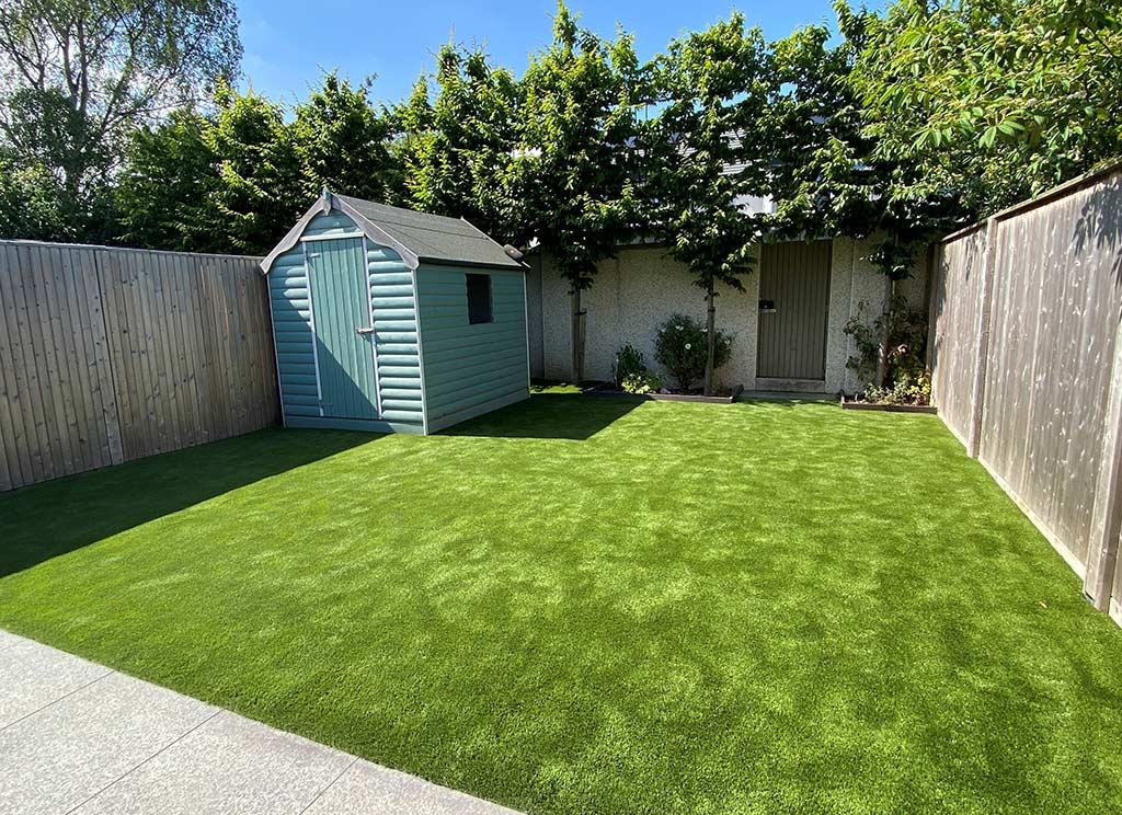 False Grass in Clontarf Back Garden