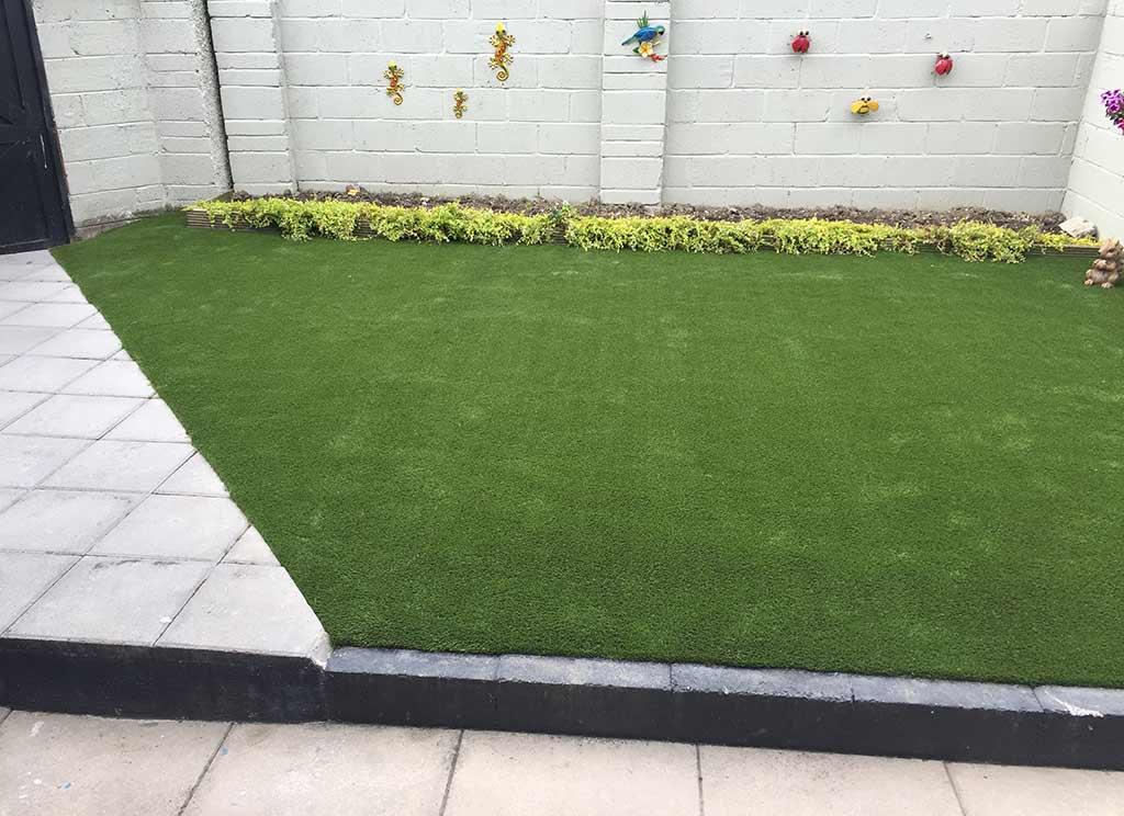 Northside Dublin Artificial Grass Back Garden