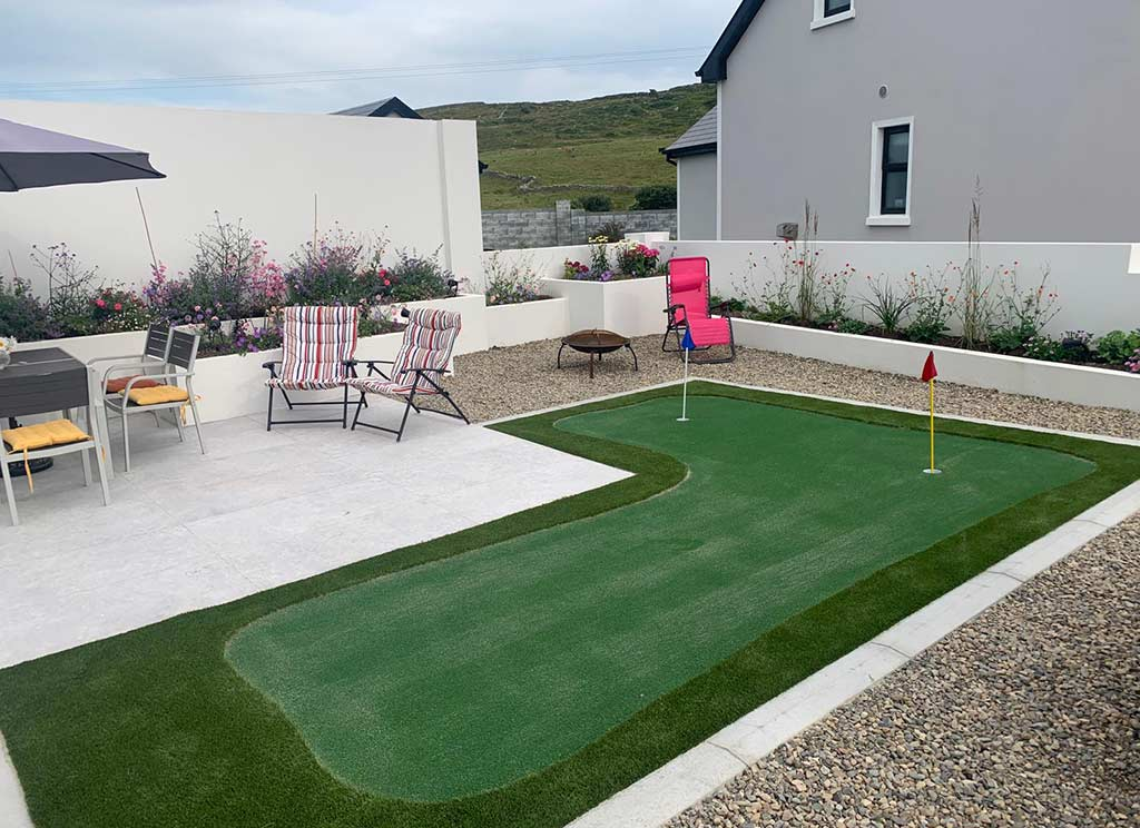 Artificial Grass Mini Putting Green County Clare