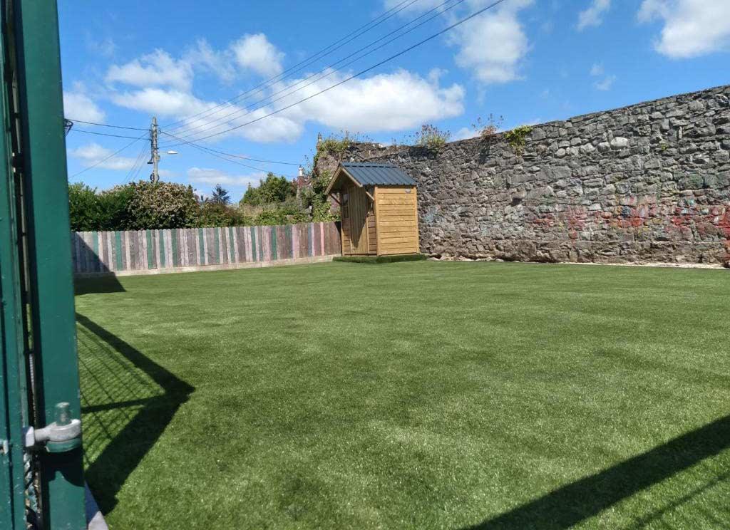 Creche Outdoor Artificial Grass Play Area